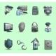 Security Symbols Icons Set