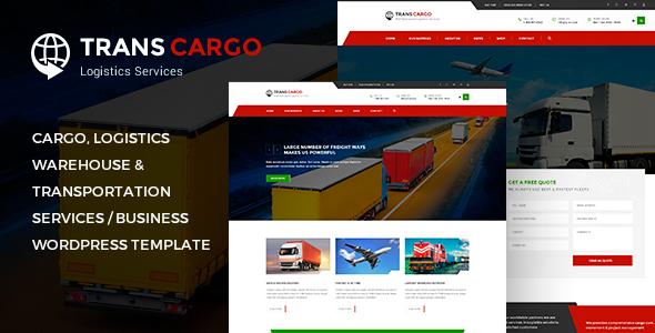 Trans Cargo - Transport & Logistics WordPress