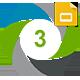 Three Report Presentation Google Slide Template - GraphicRiver Item for Sale