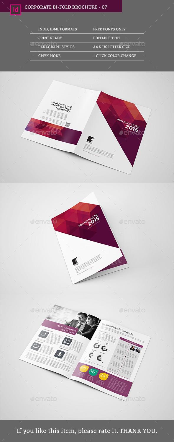 Bifold Brochure 07 - Corporate Brochures