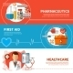 Horizontal Medical Banners - GraphicRiver Item for Sale