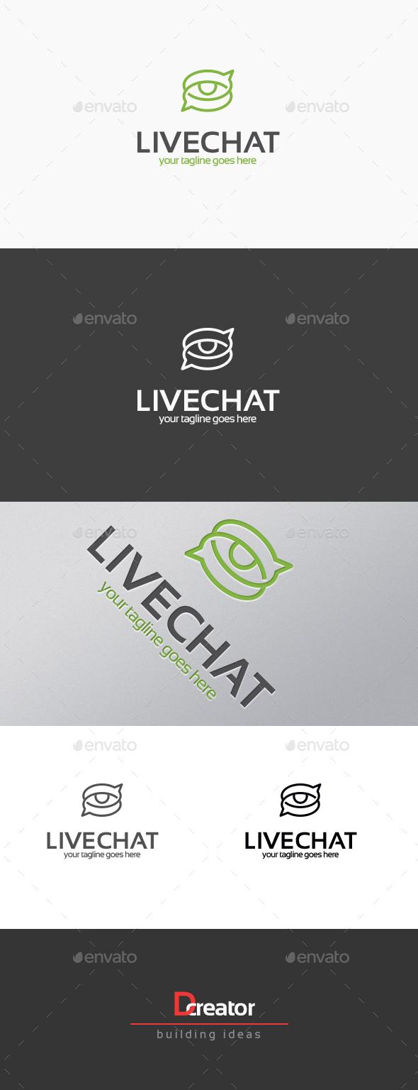 live chat - Symbols Logo Templates