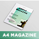 A4 Magazine MockUp vol.2 - GraphicRiver Item for Sale
