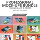 Professional Mock-Ups Bundle - GraphicRiver Item for Sale