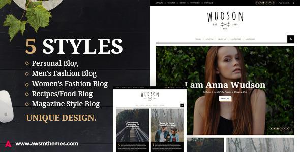 Wudson - Responsive WordPress Blog/Magazine Theme