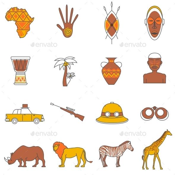 Safari Icons Set - Miscellaneous Vectors