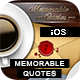Memorable Quotes App With CMS - iOS - CodeCanyon Item for Sale