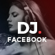 Facebook DJ Events Post Banner - GraphicRiver Item for Sale
