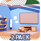 Cozy Room Transition - 2 Pack - VideoHive Item for Sale