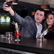 Friends Do Selfie Together in a Bar - VideoHive Item for Sale