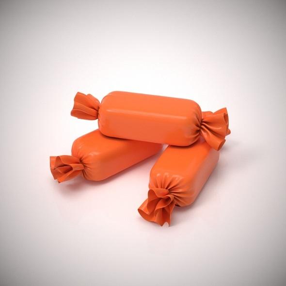 Candy wrapper v 3 - 3DOcean Item for Sale