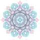 Christmas Snowflake Mandala Ornament - GraphicRiver Item for Sale