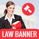 GWD | Judiciary & Law Company Banners - 7 Sizes