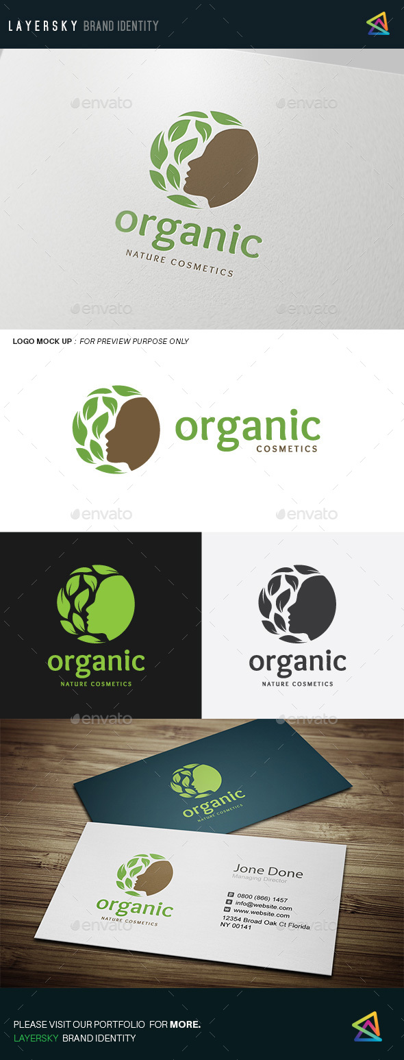 Organic  - Nature Logo Templates