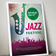 Jazz and Rock Music Flyer Bundle - GraphicRiver Item for Sale
