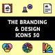 The Branding & Design Icons 50 - GraphicRiver Item for Sale