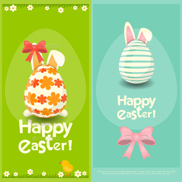 Happy Easter Greeting Card - Seasons/Holidays Conceptual