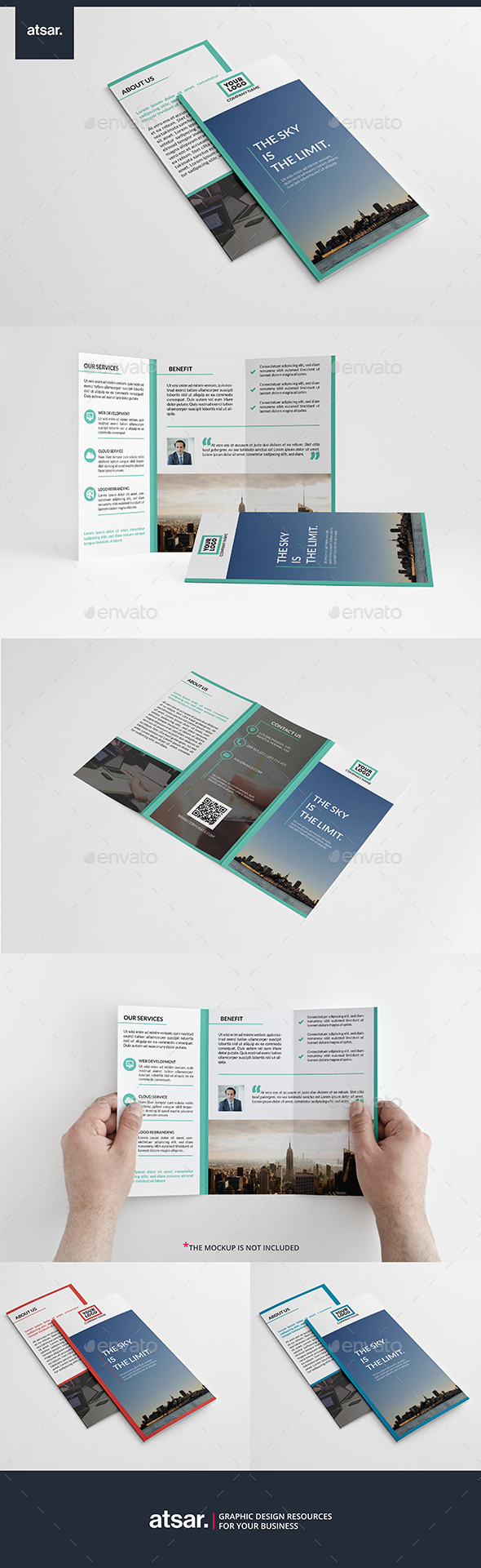 Cleanio Trifold Brochure - Corporate Brochures