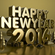Happy New Year 2016 Gold vol.2 - GraphicRiver Item for Sale