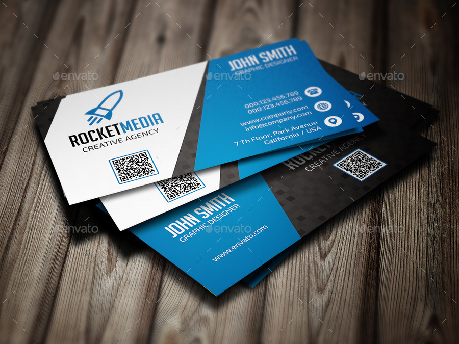 Elegant Business Card 379 by Reddes   GraphicRiver