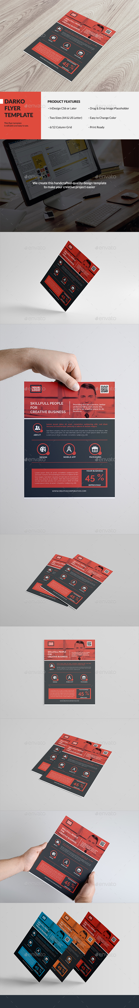 Darko Flyer Template - Corporate Flyers