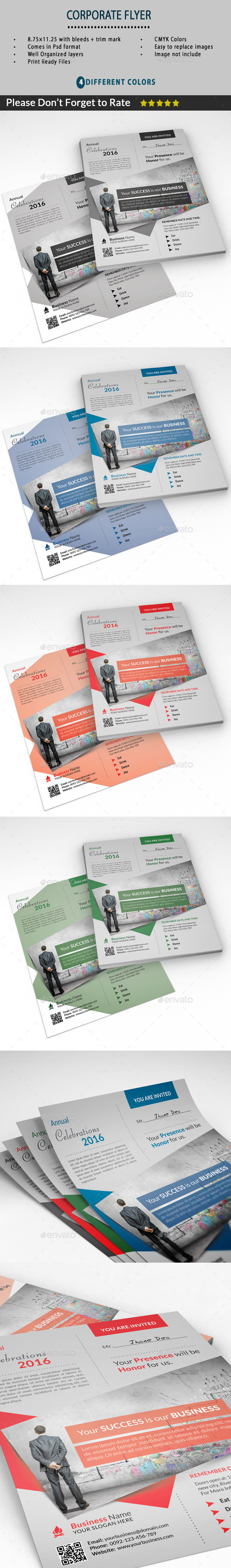 Corporate Flyer - Miscellaneous Events