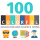 Education and Science Colorful Icons - GraphicRiver Item for Sale