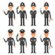 Characters Policeman - GraphicRiver Item for Sale
