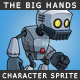 The big hands robot - GraphicRiver Item for Sale