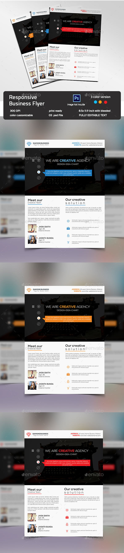 Responsive Business Flyer - Corporate Flyers
