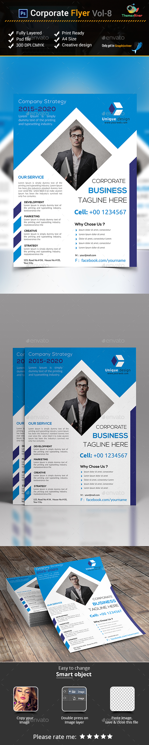 Corporate Flyer Vol- 8 - Corporate Flyers