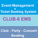 CLUB-8 EMS - Event Management System A to Z