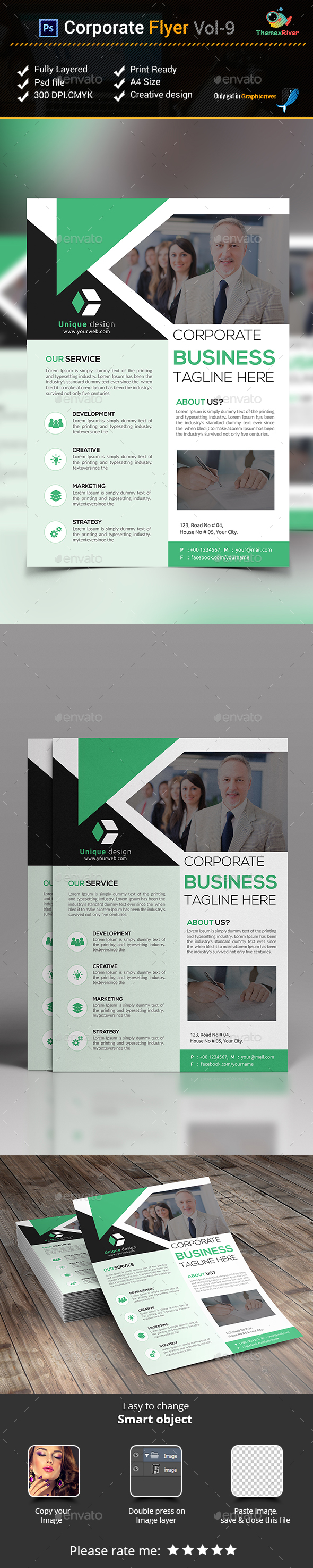 Corporate Flyer Vol- 9 - Corporate Flyers