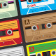 Vector Casettes - GraphicRiver Item for Sale
