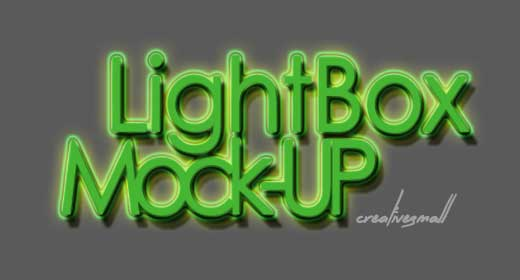 Lightbox Mock-ups -1-