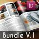Magazine Template Bundle V.1 - GraphicRiver Item for Sale