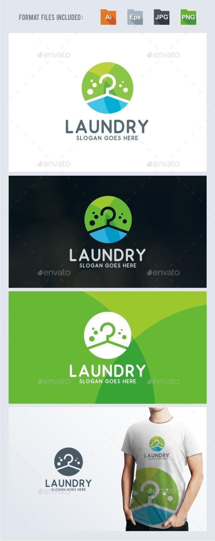 Laundry Logo Template - Symbols Logo Templates