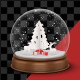 Christmas Globe - VideoHive Item for Sale