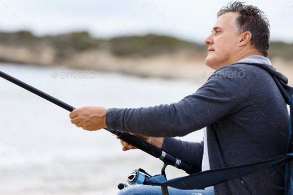 Picture of fisherman - Stock Photo - Images
