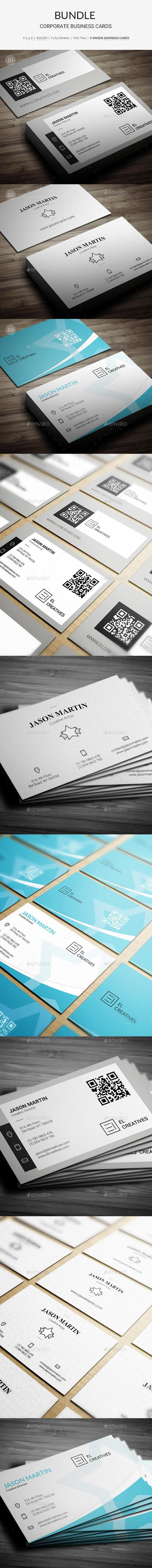 Bundle - Corporate Business Cards - 158 - Corporate Business Cards