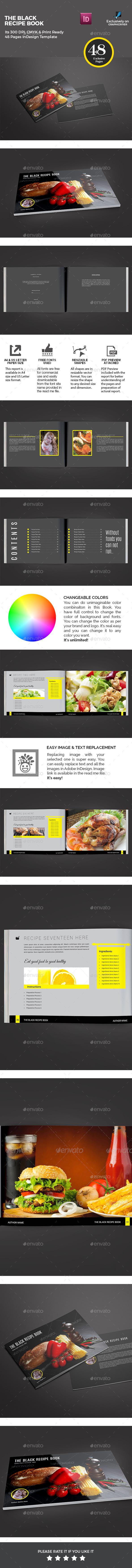 Recipe Book - Brochures Print Templates