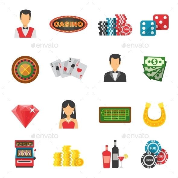 Casino Icons Set - Business Icons