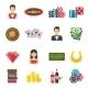 Casino Icons Set - GraphicRiver Item for Sale