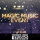 Magic Music Event - VideoHive Item for Sale