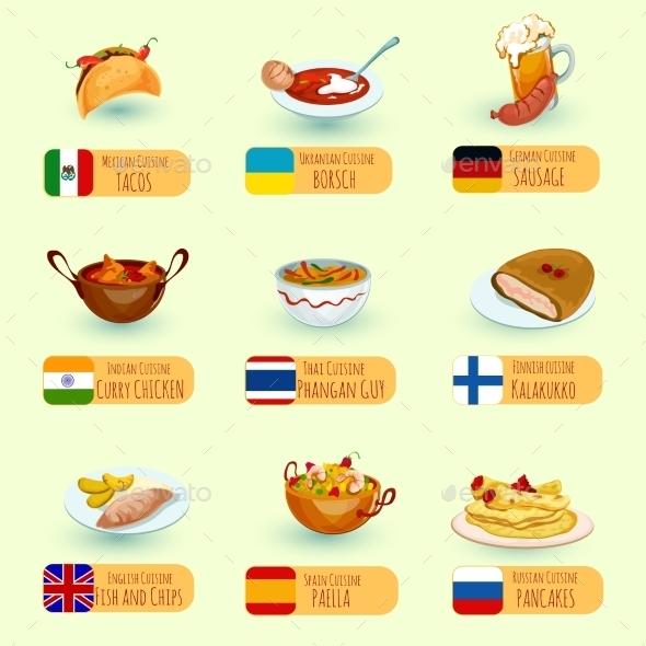 World Food Set - Food Objects