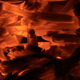 Hot Coals in the Fireplace - VideoHive Item for Sale