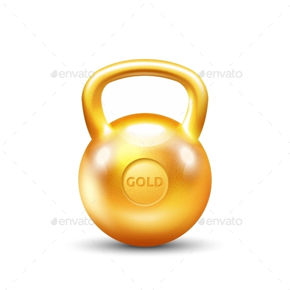 Golden Gym Kettlebell - Decorative Symbols Decorative