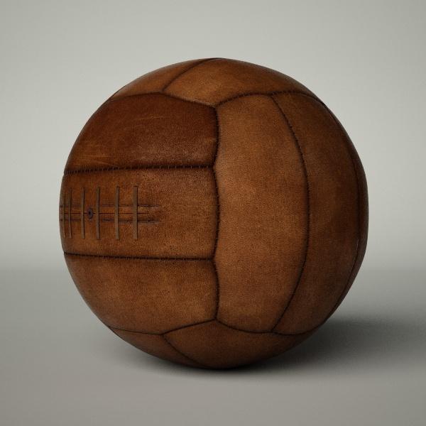 Vintage Soccer Ball 106