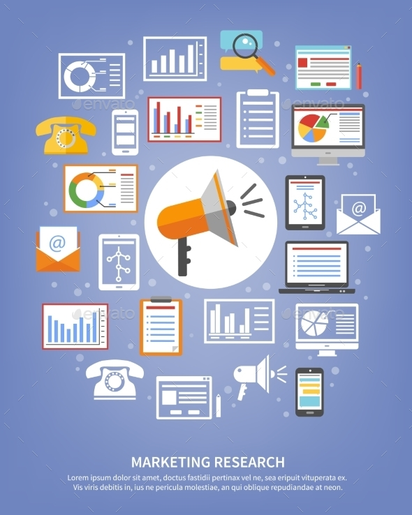 Marketing Research Icons - Business Icons