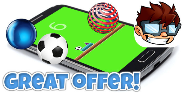 Bouncing Ball +Admob +IAP +Achievements +MORE! - CodeCanyon Item for Sale
